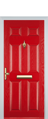 composite door loughborough red