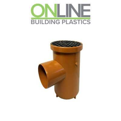 Underground drainage Bottle Gully 110mm