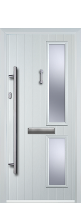 white composite door nuneaton
