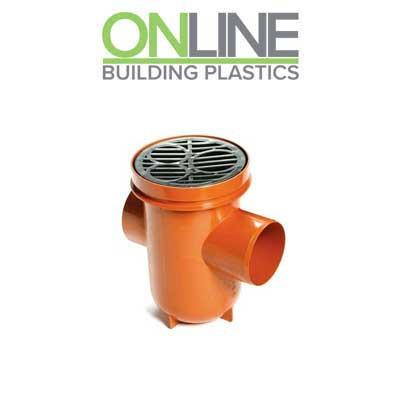 Underground drainage Bottle Gully