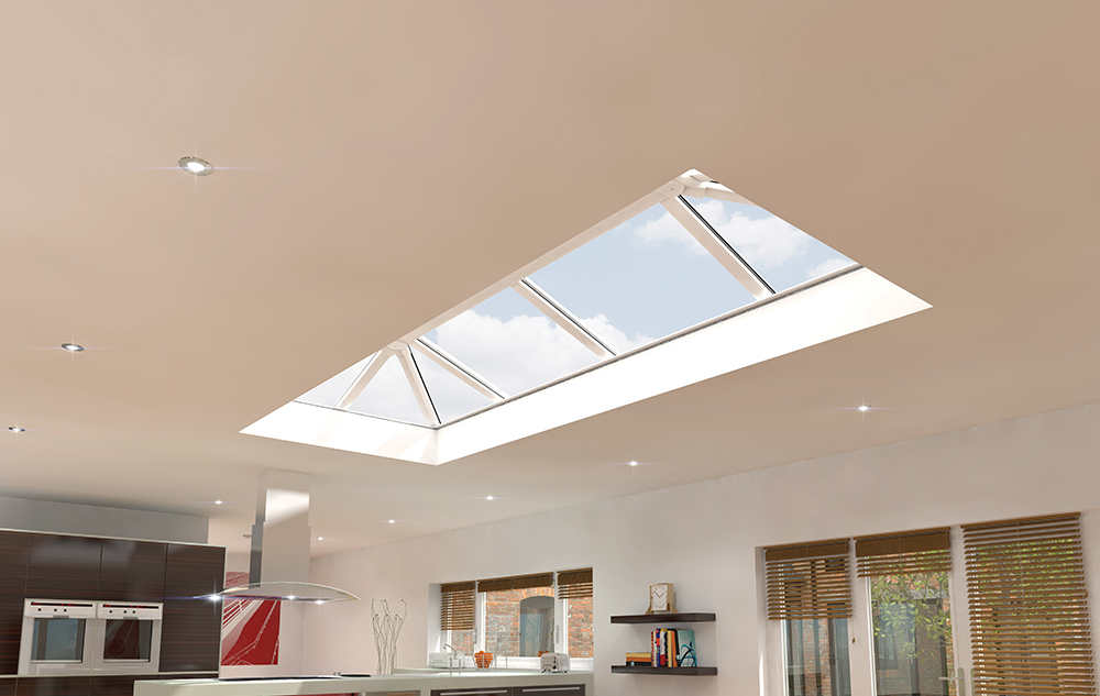 Grey Roof Lantern white houses nottinghamshire