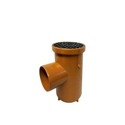 110mm underground drainage bottle gully