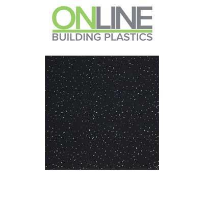 Black crystal splash panel decorative wall cladding