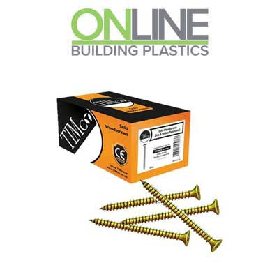 Timco fixing screws zinc plated chipboard screws
