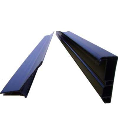 Firestone rubber cover gutter edge trim 2-Part