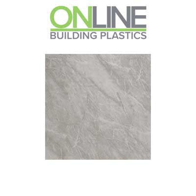 Light grey marble splash panel decorative wall cladding