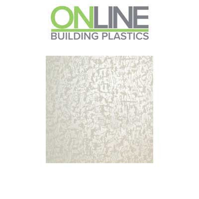 Pearlescent white splash panel decorative wall cladding