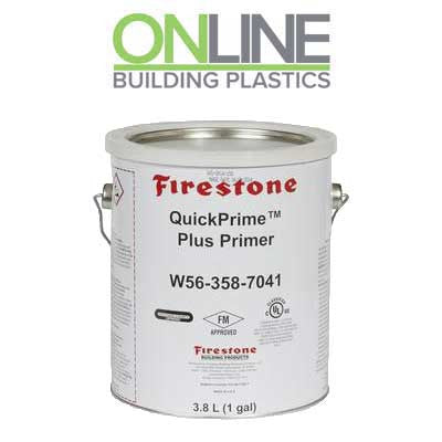 firestone quick prime adhesive online building plastics. Black Bedroom Furniture Sets. Home Design Ideas