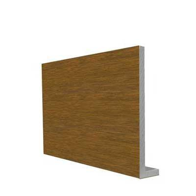 Square Fascia Golden Oak