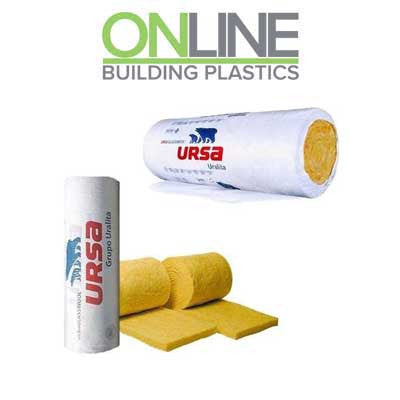 Ursa 10 Diverso Loft Insulation Roll - 3 sizes available