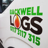 backwell logs - delivery lorry