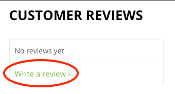 Backwell Logs, Customer Reviews