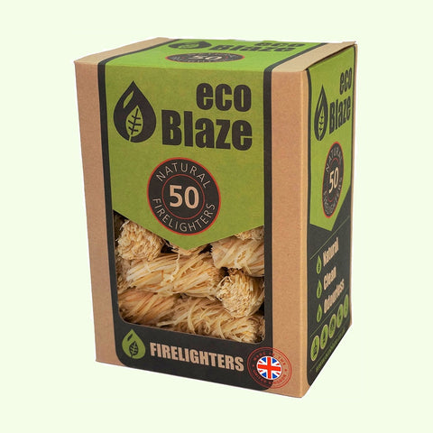 EcoBlaze Firelighters, pack of 50