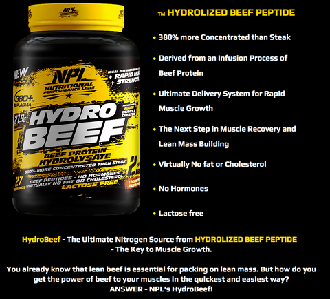 Image result for NPL Hydro Beef 2lbs
