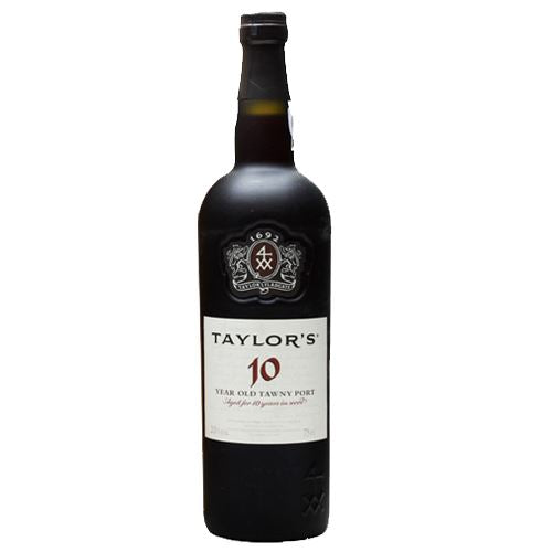 Taylors 10 Year Old Tawny Port In Wooden Gift Box 75cl 20% ABV