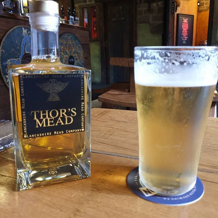 Lancashire Mead Company - Thors Hawks Mead 70cl 14.5% ABV