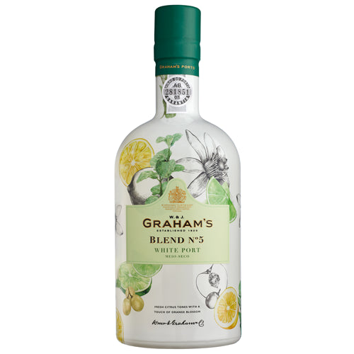 Grahams Blend No. 5 White Port 75cl 19% ABV