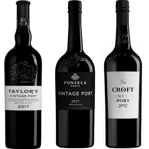 Taylors, Fonseca, Croft Vintage Port Trio Collection Pack 2017 3 x 75cl