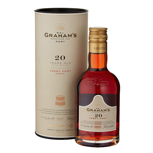 Grahams 20 Year Old Tawny Port 20cl In Branded Gift Tube