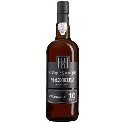 Henriques and Henriques 10 Year Old Verdelho Madeira 50cl 20% ABV