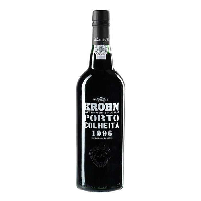 Krohn Colheita 1996 Vintage Tawny Port in Wooden Box 75cl