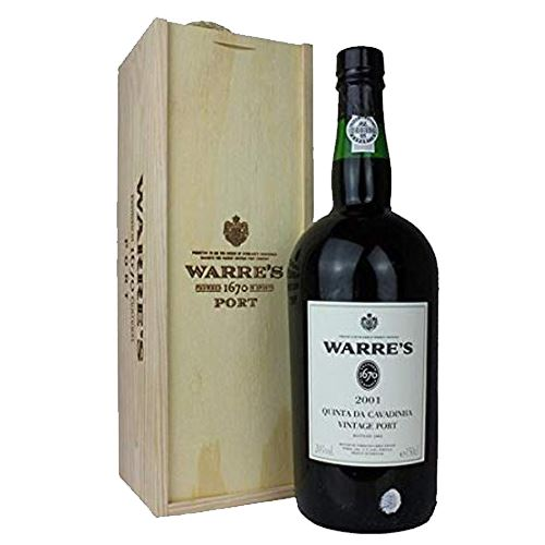 Warre's Quinta da Cavadinha 2001 Vintage Port 150cl in Wooden Presentation Gift Box