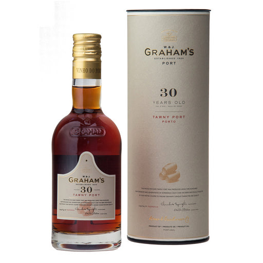 Graham's 30 Year Old Tawny Port 20cl In Branded Gift Tube