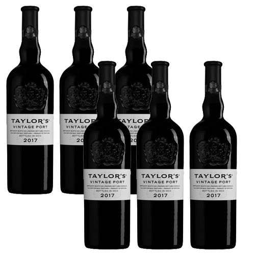 Taylors Vintage 2017 Port Case of 6 x 75cl