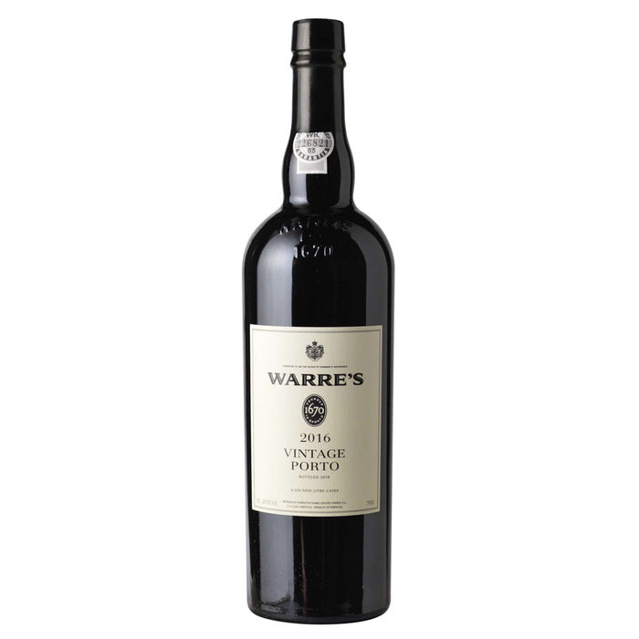Warres Vintage Port 2016 75cl