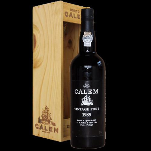 Calem Vintage 1985 Port 75cl in Wooden Gift Box