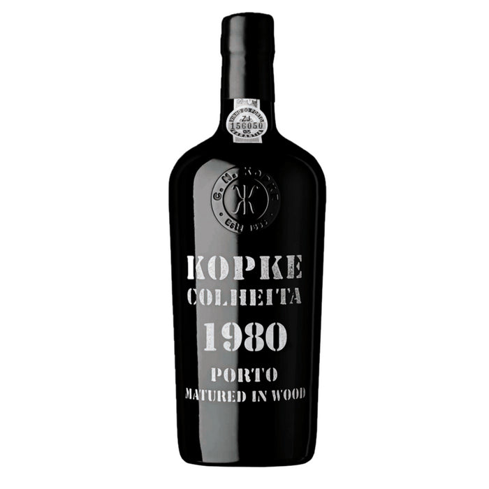 Kopke Colheita 1980 Vintage Port 75cl in Wooden Gift box 20% ABV