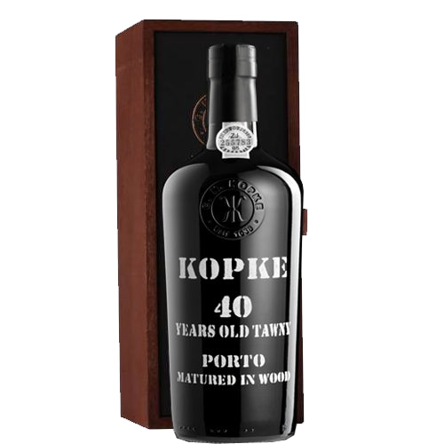 Kopke 40 Year Old Tawny Port 75cl in Wooden Gift Box 20% ABV