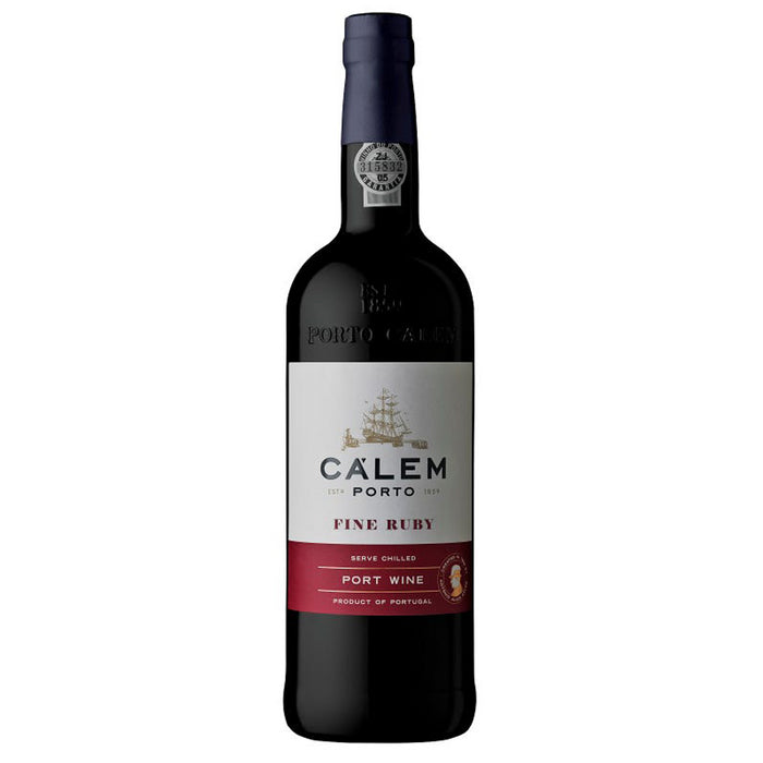 Calem Fine Ruby Port 75cl 19.5% ABV
