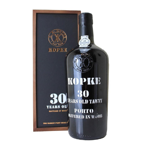 Kopke 30 Year Old Tawny Port In Wooden Gift Box 75cl 20% ABV