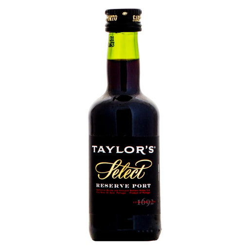 Taylors Select Reserve Ruby Port Miniature 5cl 20% ABV