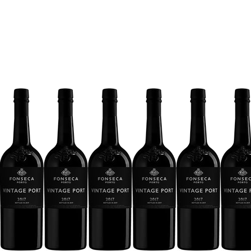 Fonseca Vintage Port 2017 Case of 6 x 75cl