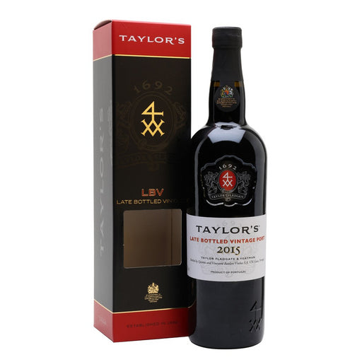 Taylors LBV Port 2015/2016 Gift Boxed 75cl 20% ABV