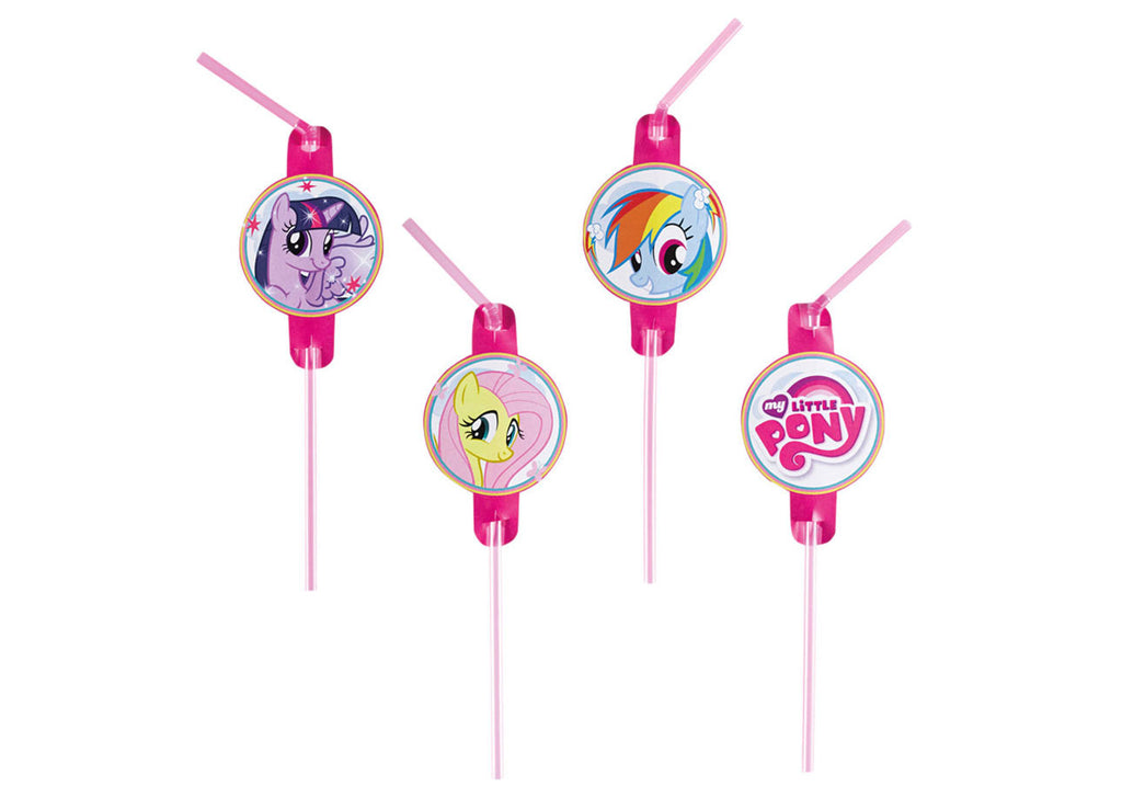 Pailles d'anniversaire My Little Pony