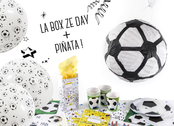 Kit anniversaire Football Pinata