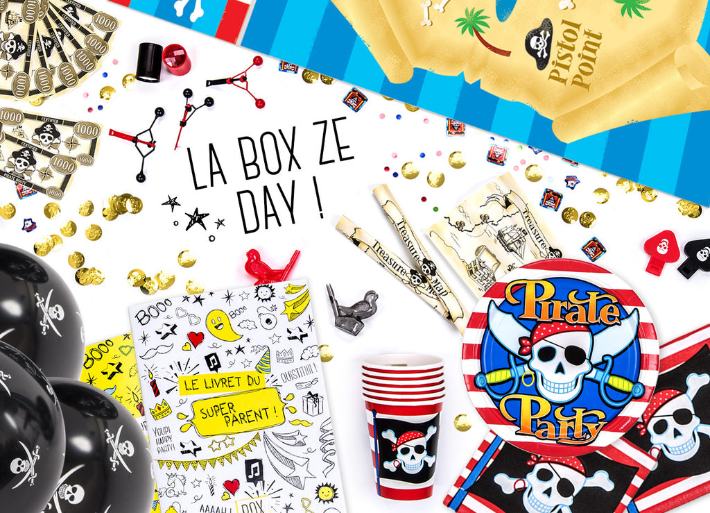 Kit anniversaire Pirates