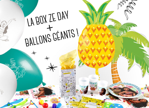 La Mega Box Ze Day Vaiana+ Ballons Géants
