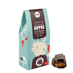 Barú Dark Chocolate Hippos Sea Salt Caramel - miniflamingo