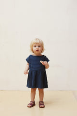 Le Petit Germain Kleid blau - miniflamingo Shop
