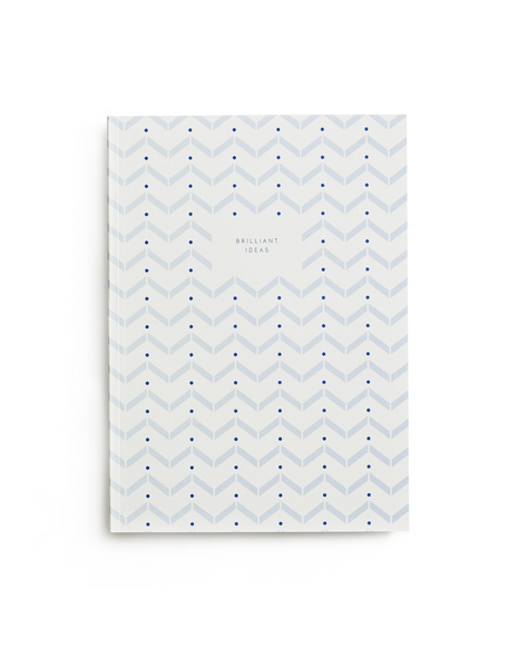 Kartotek Notizbuch Brilliant Ideas Light Blue