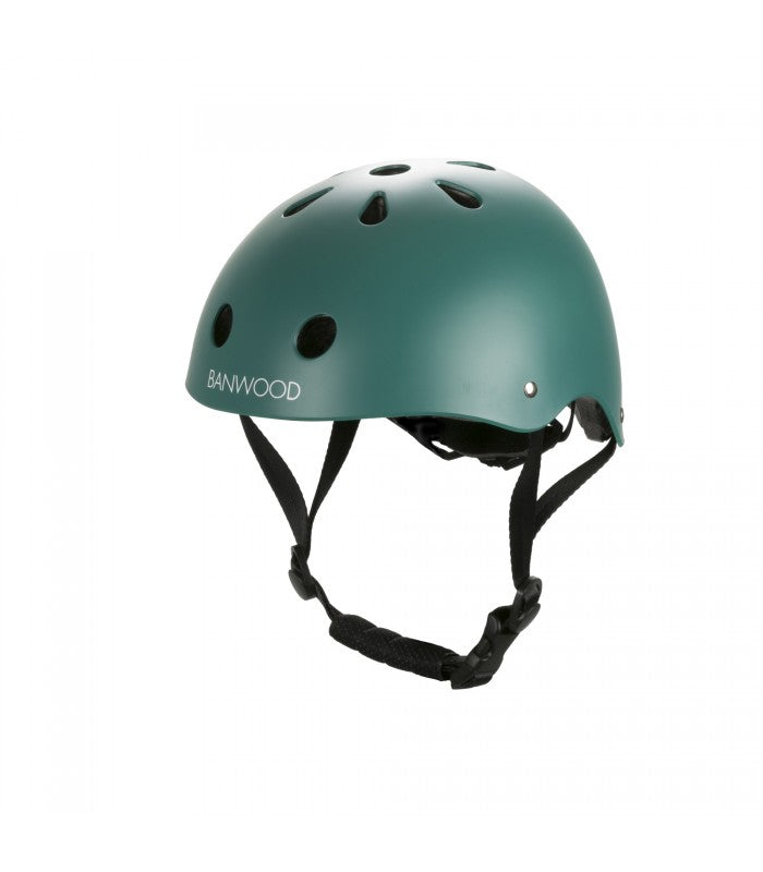 Banwood Helm Boy & Girl green - miniflamingo