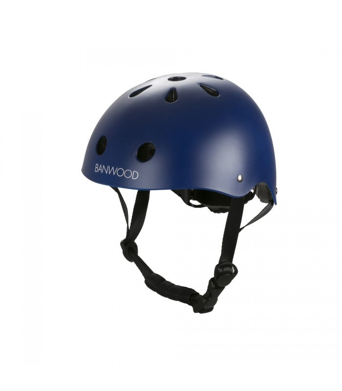 Banwood Helm Boy & Girl navy - miniflamingo