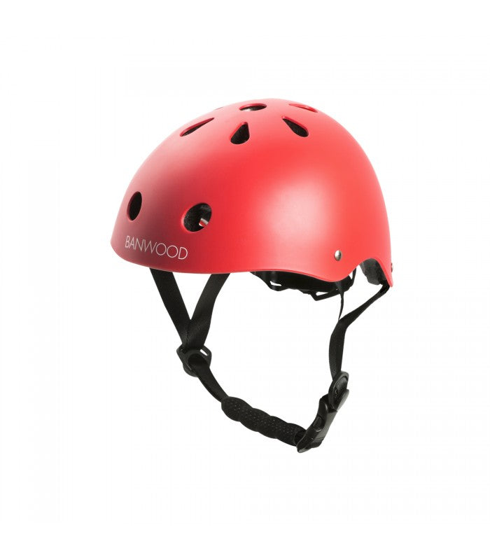 Banwood Helm Boy & Girl red - miniflamingo