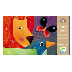 Djeco Riesenpuzzle: Animal parade
