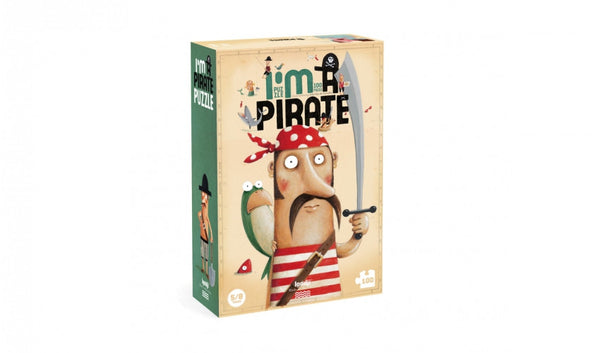 Londji Puzzle I'am a Pirate - miniflamingo