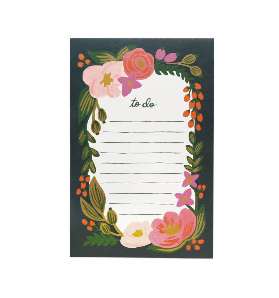 Rifle Paper Co. To-Do Notizblock Rosalie - miniflamingo